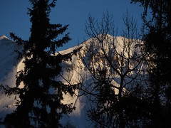 Sun, 2018-01-14 11:44 - Mountain Lodge 3012から見た朝日