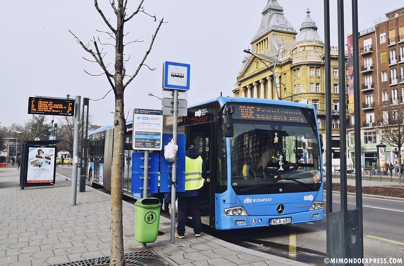 Bus 100E Budapest