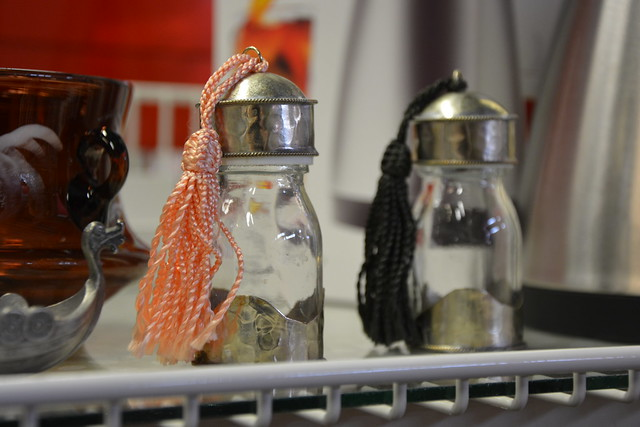 Salt and Pepper Shakers with tassels? by iHanna #studioihanna