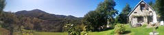 PANO_20170920_150010 Panorama of Ruth and Peter's place near Massat, Pyrenees