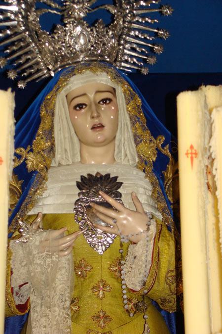 Hermandad y Cofradia de Nazarenos de Nuestro Padre Jesús de la Salud en su Sagrada Entrada Triunfal en Jerusalén, María Santísima de la Paz y Santiago Apóstol