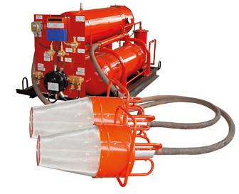Установка автоматическая рудничная пожаротушения высокократной пеной УАПП -3Р