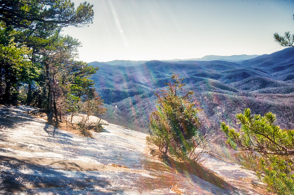 Top of the hill (Looking Glass Rock)