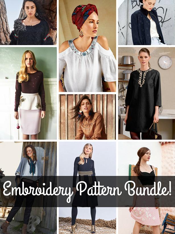 Embroidery Pattern Bundle!