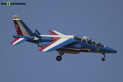 E163 7 F-TERB - E163 - Patrouille de France - French Air Force - Dassault-Dornier Alpha Jet E - RIAT 2013 Fairford - Steven Gray - IMG_9909