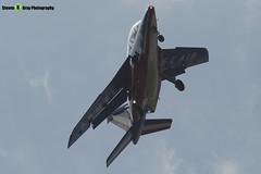 E46 2 F-UHRF - E46 - Patrouille de France - French Air Force - Dassault-Dornier Alpha Jet E - RIAT 2013 Fairford - Steven Gray - IMG_9919