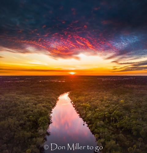 cloudsonfire cloudporn sunsetmadness sunsets nature reflection goldenhour panorama clouds mavicpro drone panoramic fireinthesky river aerial sky sunsetsniper outdoors florida water panoimages3 venice unitedstates us