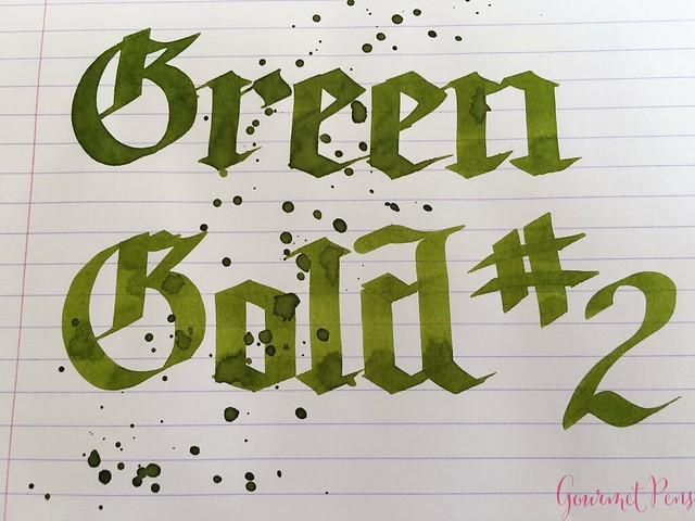 Ink Shot Review KWZI Green Gold #2 @AppelboomLaren 6