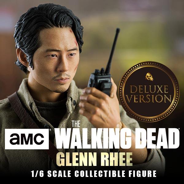 劇迷都要噴淚啦~~ threezero《陰屍路》葛倫.瑞 The Walking Dead Glenn Rhee 1/6 比例人偶作品 普通版/豪華版