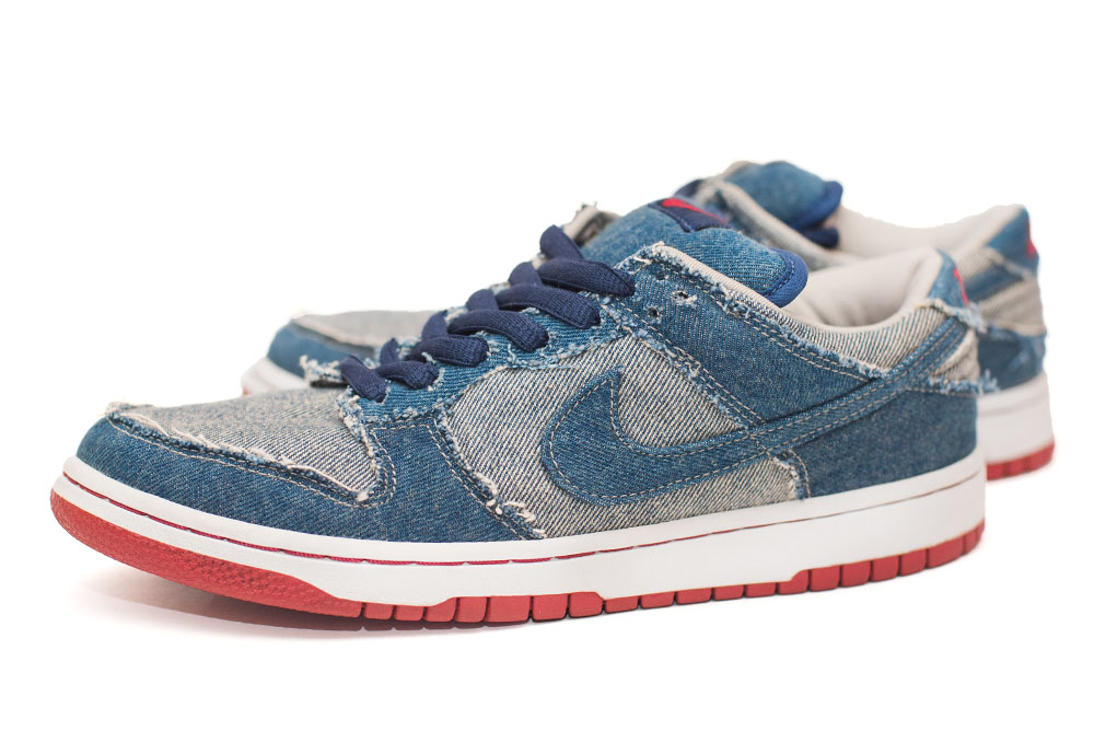 2002 Reese Forbe Denim Nike Dunk Low SB.