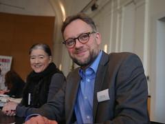 Frauke C. Müller für den AOK Bundesverband und Lukas Kaiser von der Joachim Herz Stiftung in den Sonderpreisjuries