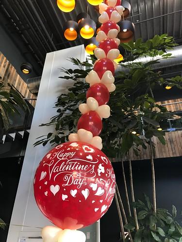 Ballonslinger Valentijnsdag Watertuin Spijkenisse