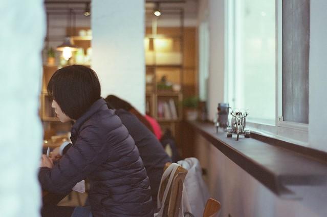 咖啡館的人們