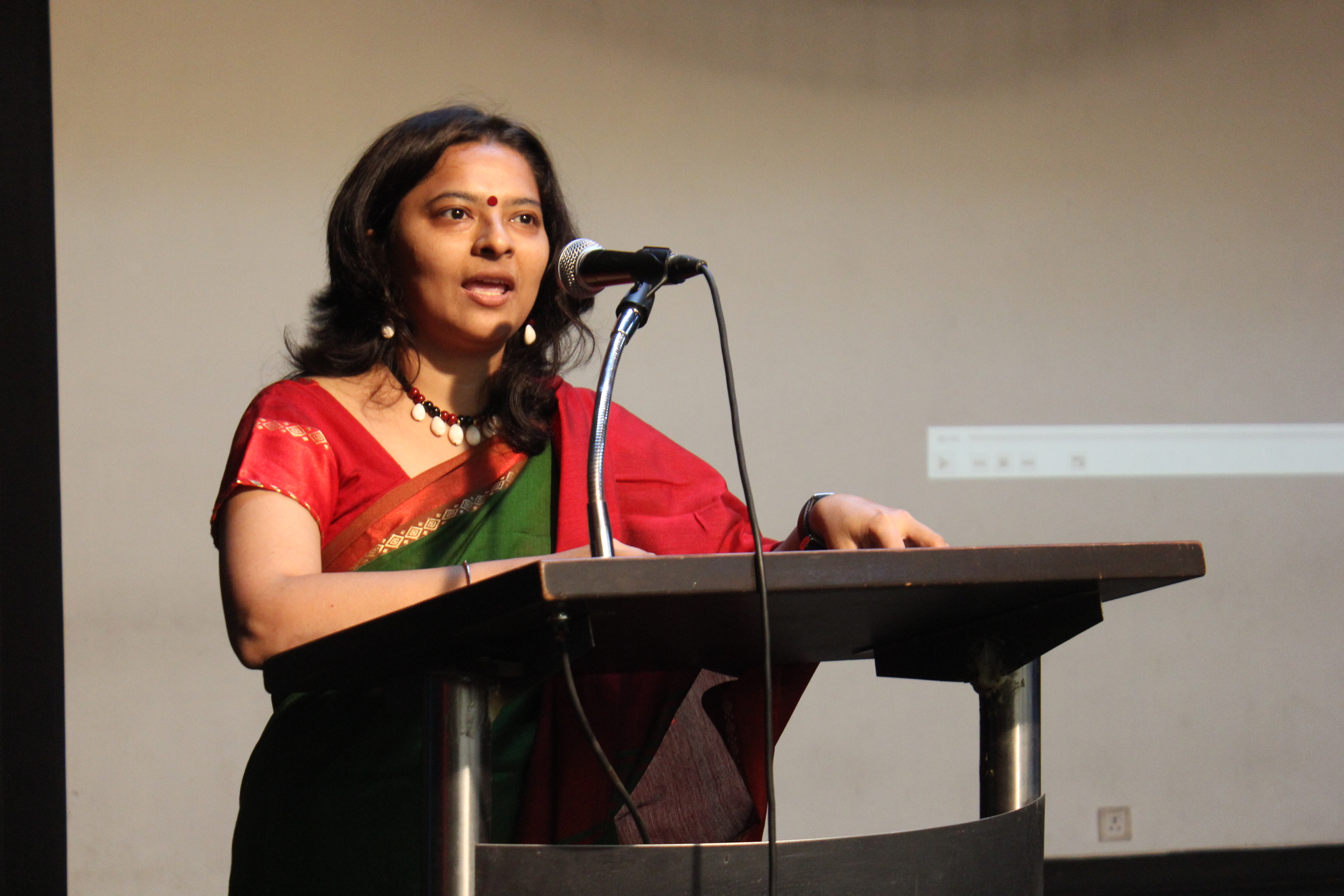 International Survivors of Suicide Loss Day 2017: Assistant Professor of Psychology in Mithibai College of Arts, Ms. Suchitra Chowdhary.