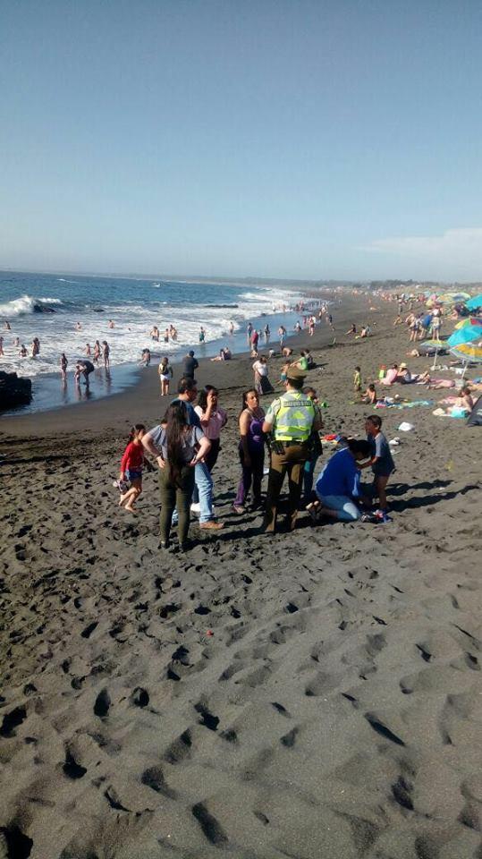 PELLUHUE & CURANIPE; Carabineros Entrega Recomendaciones a Veraneantes en costas Maulinas