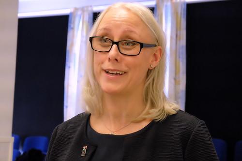 Sandra Wall, projektledare för Musikhuvudstad Norrköping