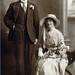 HWL002 - H W Luxton & Emily Lavinia Luxton (nee Roskell) - circa 1921