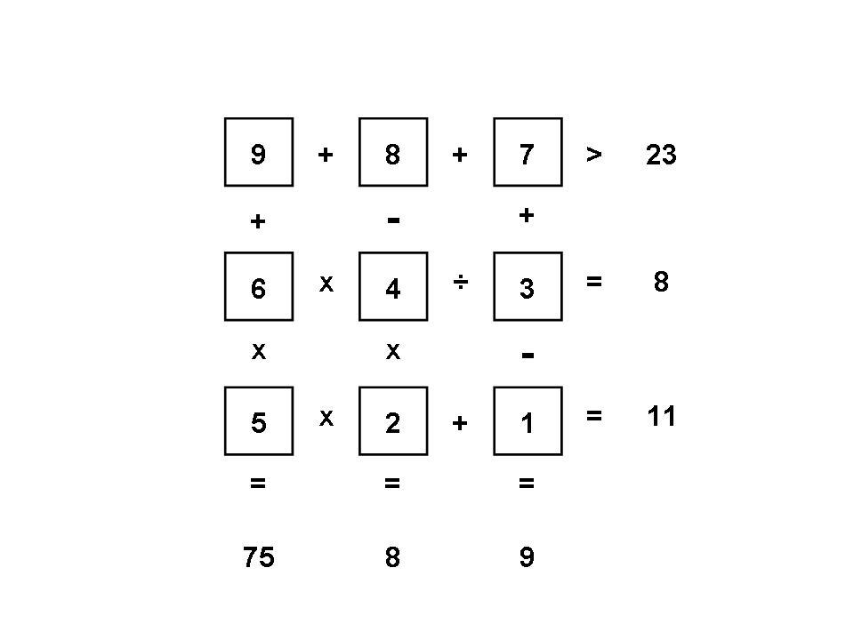 Arithmetic Squares Example JPEG