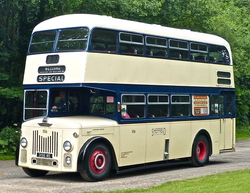 3156 WE 'Sheffield Joint Omnibus Commitee' No. 1156. Leyland PD2/30 / Roe /1 on Dennis Basford's railsroadsrunways.blogspot.co.uk'