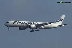 OH-LWD - 022 - Finnair - Airbus A350-941 - Heathrow - 170402 - Steven Gray - IMG_9690