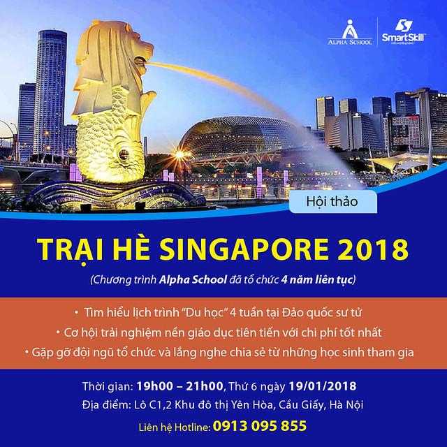 Hội thảo trại hè Singapore 2018