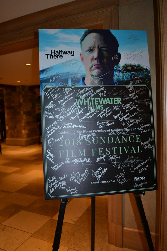Whitewater Films: Receptions at the St. Regis Deer Valley during Sundance Film Festival