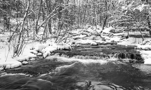 Winter At Minnie Falls