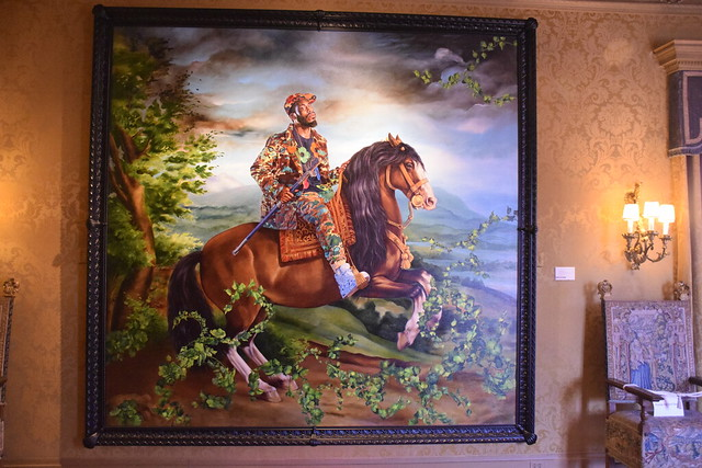 Equestrian Portrait of King Philip IV, 2016-2017 by Kehinde Wiley