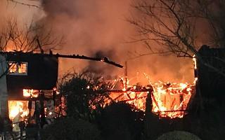 Bere Mill blaze