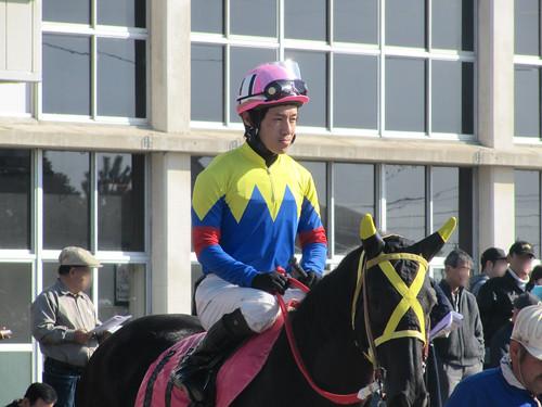 金沢競馬場の藤田弘治騎手