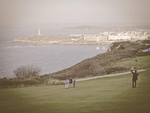 Tarde en el parque. #Coruña #torredehercules #parque #park #sanpedro #olympusomd #olympus