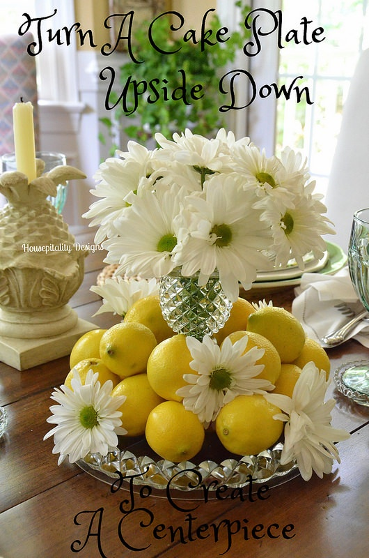 Daisy and Lemon Centerpiece-Housepitality Designs