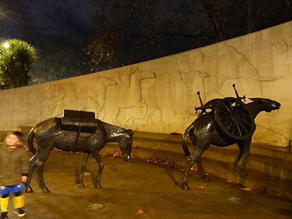 les animaux de la guerre