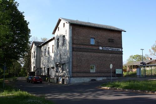 Ehemaliges Empfangsgebäude des Bahnhofs Silberhausen