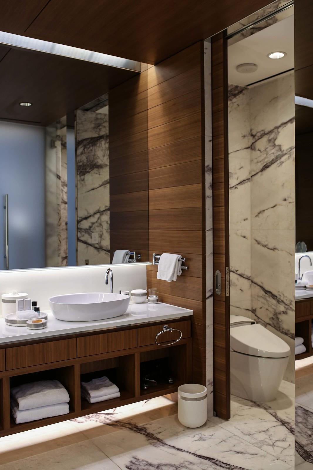 bathroom in red rock resort suite