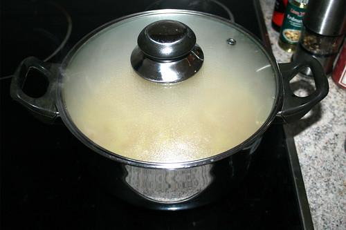 34 - Reis geschlossen auf niedriger Stufe garen / Cook rice closed on low level