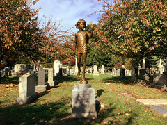 Memorial to Elisabeth Eydt - Congressional Cemetery - Washington, DC