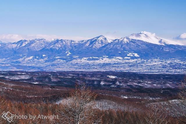 Mt. Asama in winter