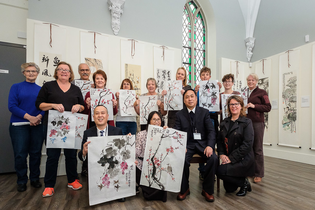 Traditional Chinese Paining at the Helson Gallery