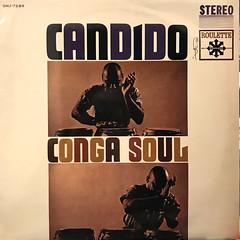 CANDIDO:CONGA SOUL(JACKET A)