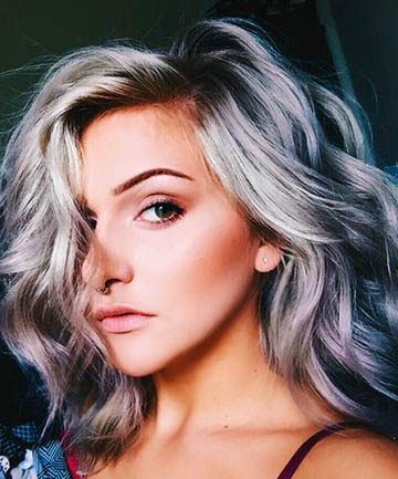 +20 Silver Hair Colors 2018 - Hair Colors 8