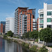 The River Aire through Leeds
