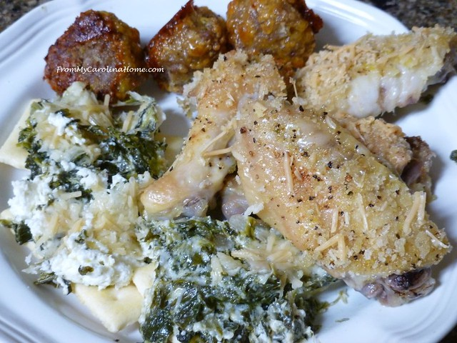 Appetizer Small Plate Meals ~ From My Carolina Home