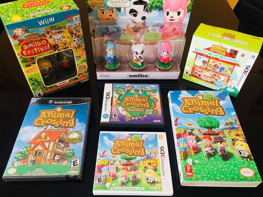 Saga Animal Crossing