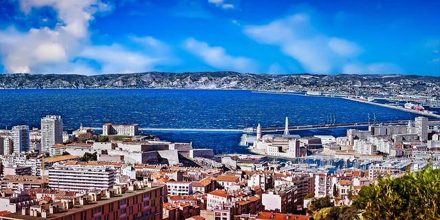 Rade & centre-ville de Marseille