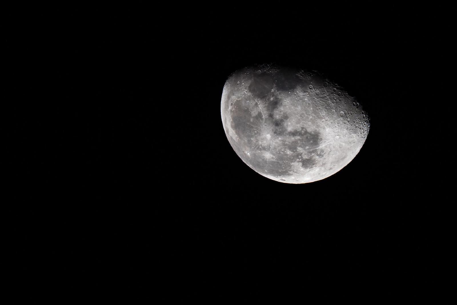 Moon: Waning gibbous (82%)