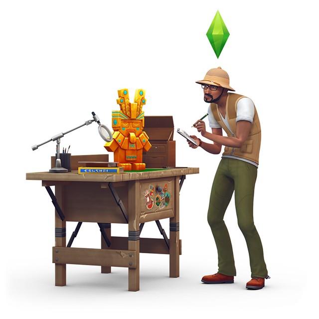 Renders do The Sims 4 Aventuras na Selva