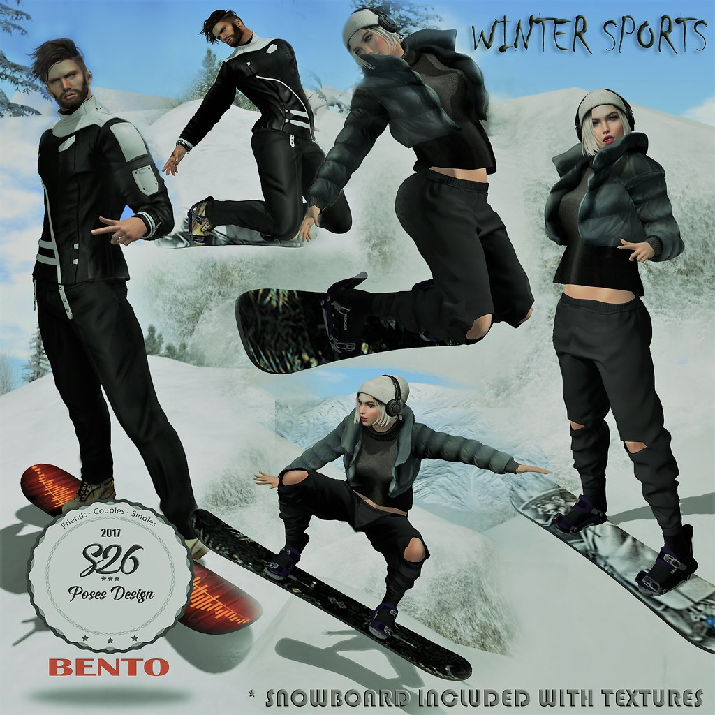 * New Winter Sports * - TeleportHub.com Live!