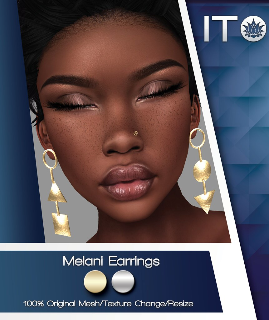New Release Melani Earrings - TeleportHub.com Live!