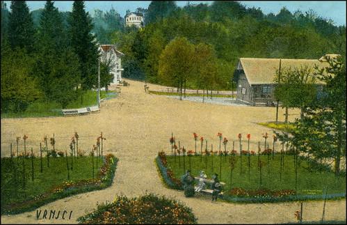 6189 r vrnjačka banja ružičnjak sent anka maretić vinkovci 26v1926 antikvarijat mali neboder rijeka croatia amn